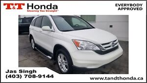 2011 Honda CR-V EX-L* AWD, One Owner, Leather, Sunroof*