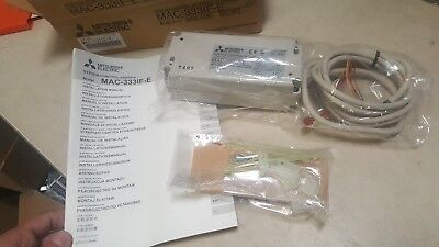 Mitsubishi Electric MAC-333IF-E - System Control Interface Room air conditioner