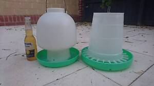 Chicken feeder and water Ascot Belmont Area Preview