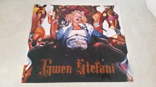 "Gwen Stefani Huge Oversize Promotional Poster 41"" x 46"" Rare and Unique"
