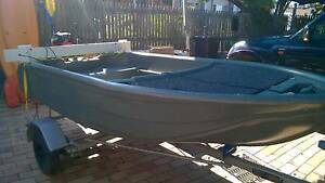 2M PIRANHA POLYCRAFT with motor and trailer West End Brisbane South West Preview