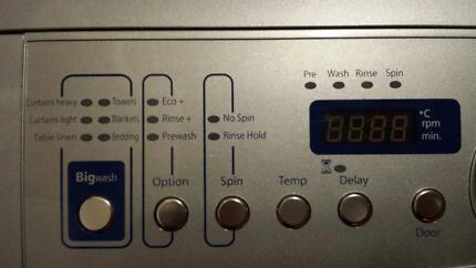Samsung 7.2kg front loading washing machine - spare parts, broken Stirling Stirling Area Preview