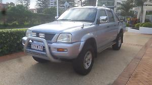 Mitsubishi Triton  Ute 4x4 GLX-R , dual cab, low ks, Rego , Rwc Ashmore Gold Coast City Preview
