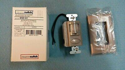 Acuity Sensor Switch Wsd Gy Motion Detector Switch Grey 120277 Vac New Switch