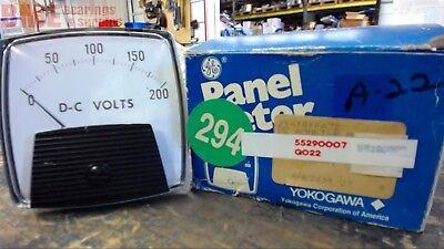 Yokogawa 254320rlrl 200 Vdc Panel Meter
