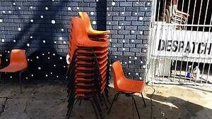 190x MATCHING STRONG SEBEL STACKING CHAIR*METAL & PLASTIC*SCHOOL Cartwright Liverpool Area Preview