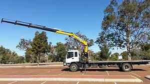 Hiab Truck for hire Pearsall Wanneroo Area Preview