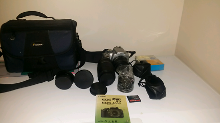 Canon EOS 400D REBEL XTI BUNDLE