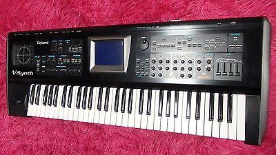 Roland V-synth Synthesizer Keyboard Vsynth 61 Keys International Shipping