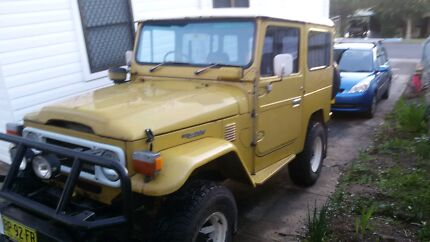 1981 bj42 diesel land cruiser Marks Point Lake Macquarie Area Preview