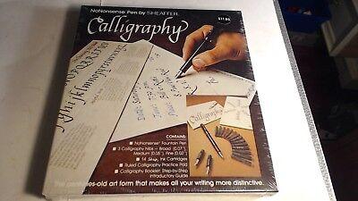 Vintage Sheaffer No Nonsense Calligraphy Pen Set 72261 USA Made shrink wrapped