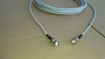 Rg58 Plenum -  US MADE BELDEN RG-58 PLENUM   BNC Male  to BNC Male   50 ohm  coax cable 15FT