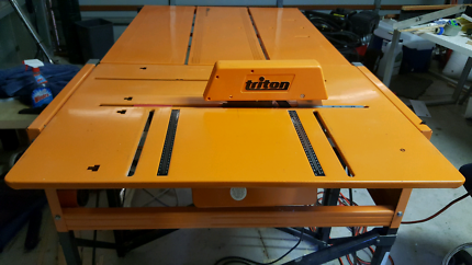 Triton Workcentre Mk3 + Extension Table + Extras