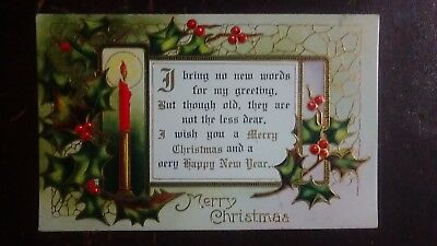 I Bring No New Words For My Greeting... Merry Xmas & A Very Happy New Year- (Greeting Words For Christmas & New Year)