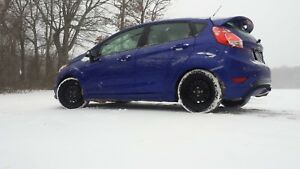 Ford fiesta winter rims and tires