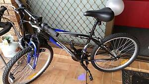 Bicycle with helmet and lock Wolli Creek Rockdale Area Preview