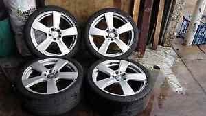 18 INCH Mercedes wheels 5 stud Moorebank Liverpool Area Preview