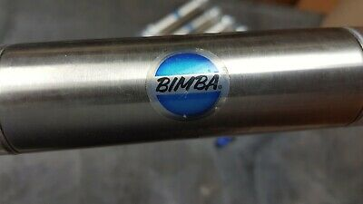 Bimba Stainless Air Cylinder M-123-dp N.o.s. Lot Of 4