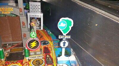 Jurassic Park Pinball East Dock Sign Mod by Tim's Pinball Mods