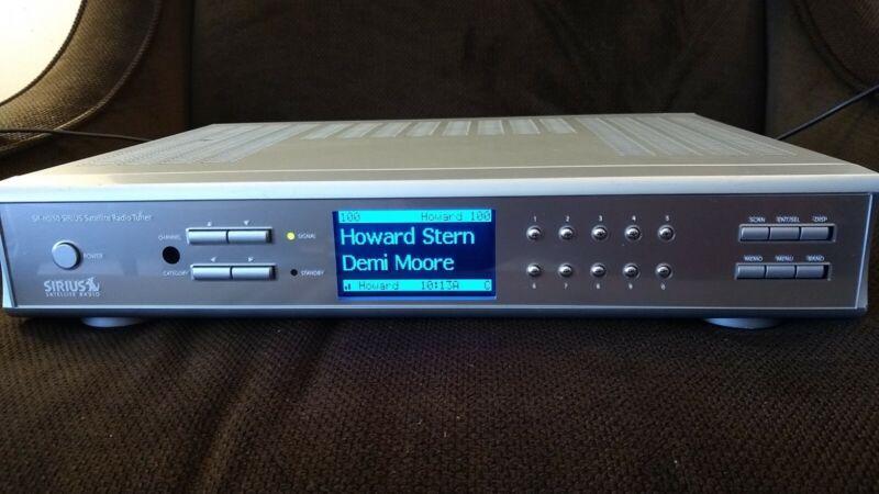 Active Rare Sirius Satellite SR-H550 Radio Lifetime Subscription 150+ Channels!