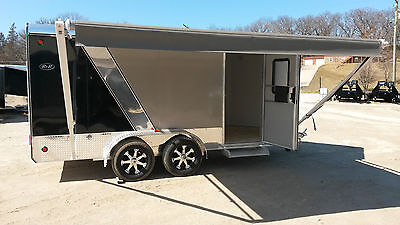 R Amp R All Aluminum 7x14 3 Cargo Trailer Toy Hauler