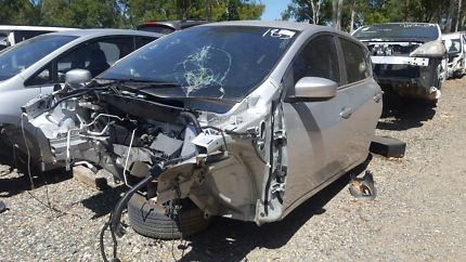 2015 NISSAN PULSAR SILVER FOR WRECKING