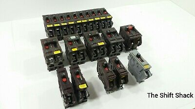 Wadsworth Circuit Breaker 20 30 40 Amp Single And Double Pole 120v 240v Panel