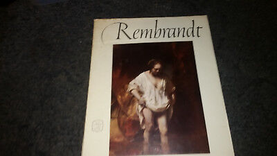Rembrandt 16 Beautiful Full Color Prints An Abrams Art Book Hardcover Color