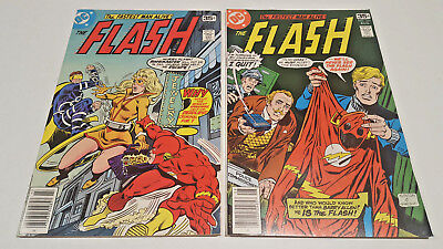 Flash  #263 & 264 Bronze Age Lot (DC, 1978)