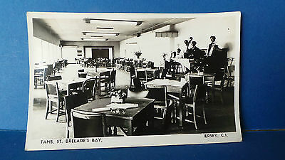 Jersey Channel Islands RP Postcard Tams Nightclub St Brelades Bay circa 1950's
