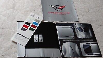 Chevrolet CORVETTE 3 piece large format brochure pack - 1998