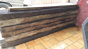 Railway Sleepers Pickup South Wentworthville South Wentworthville Parramatta Area Preview