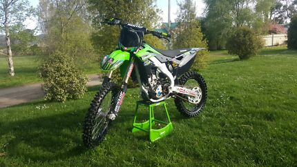 2013 KX 250F DIRTBIKE IMMACULATE CONDITION LOW HOURS  Launceston 7250 Launceston Area Preview