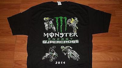 AMA Monster Energy MotoX supercross Tour T-Shirt mens womens Dirt Bike motorcycl