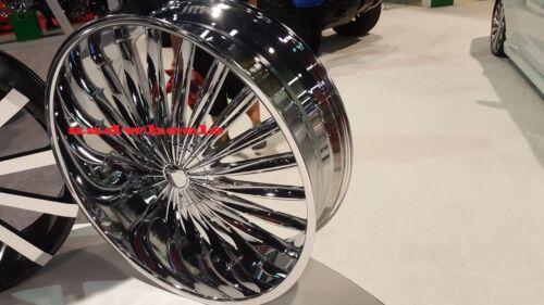 28 Inch Velocity V11 Wheels Rims & Tires Fit 6 X 139.7 Silverado, Tahoe, Sierra