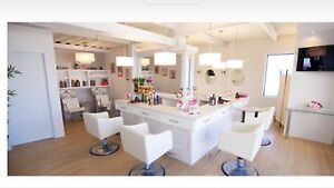 Beautiful Turn Key Beauty Salon for Sale ( Chomedey, Laval )