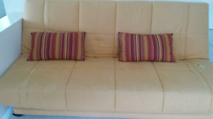 orange bed sofa Caringbah Sutherland Area Preview