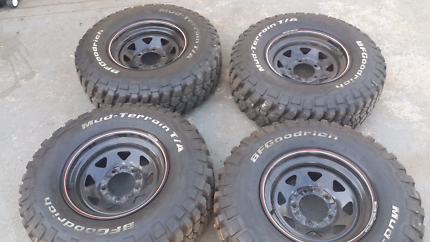 bf goodrich mud tyres and rims