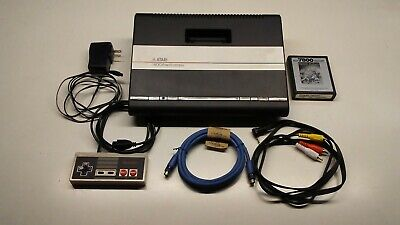 Atari 7800 console,UAV S-Video mod ,TRRS, Recapped w Nichicon,Modded game pad,
