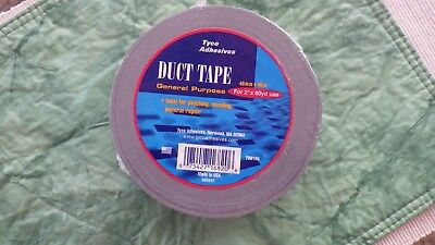 Standard Grey General Purpose Tyco Duct Tape 2 Inch X 60 Yards