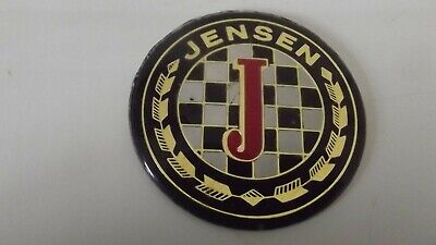 Jensen GT steering wheel centre badge used but in good condition 2 available