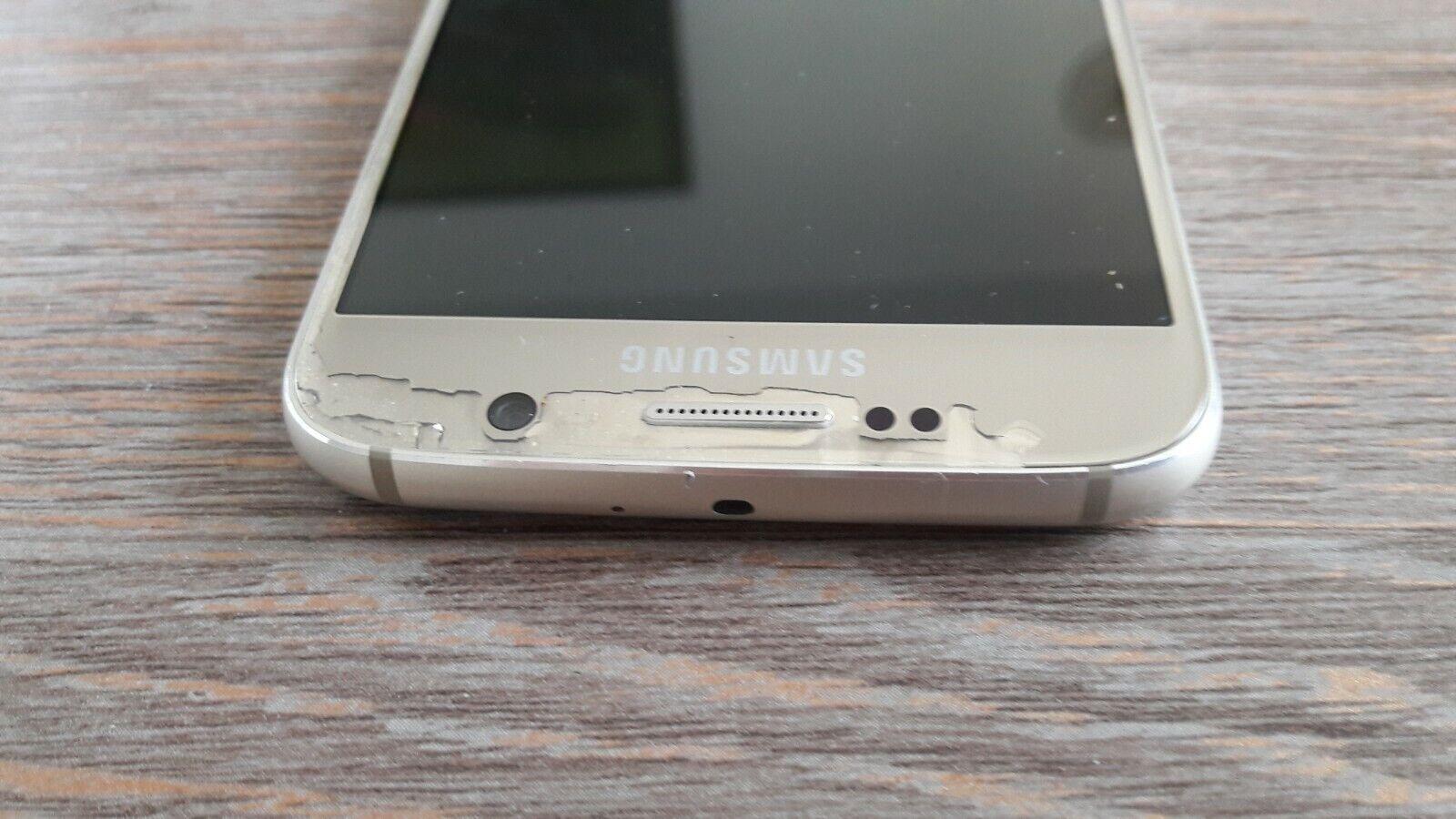 Samsung s6 SM-G920F GOLD defect / pas foncition bien