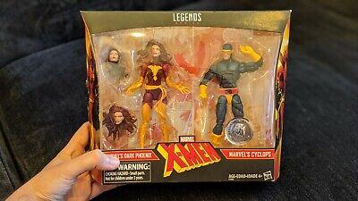 """DARK PHOENIX & CYCLOPS 2-pack Marvel Legends X-Men 6"""" TRU Exclusive figures"""