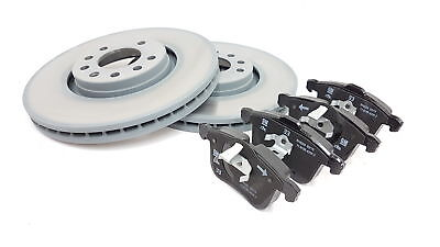 Genuine Vauxhall Vectra C & Signum 314MM Front Brake Disc & Pad Kit 93186299 314 Mm Front Disc