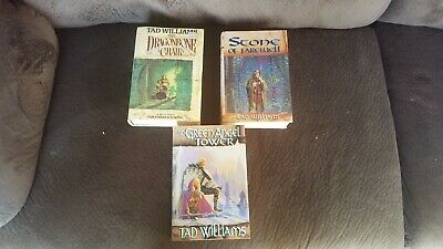 Memory, Sorrow, & Thorn Set Tad Williams(1st Edition/Printings,Dragonbone Chair) Dragon Bone Chair