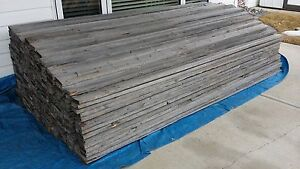 Reclaimed Barn Wood - Vertical Fence Boards