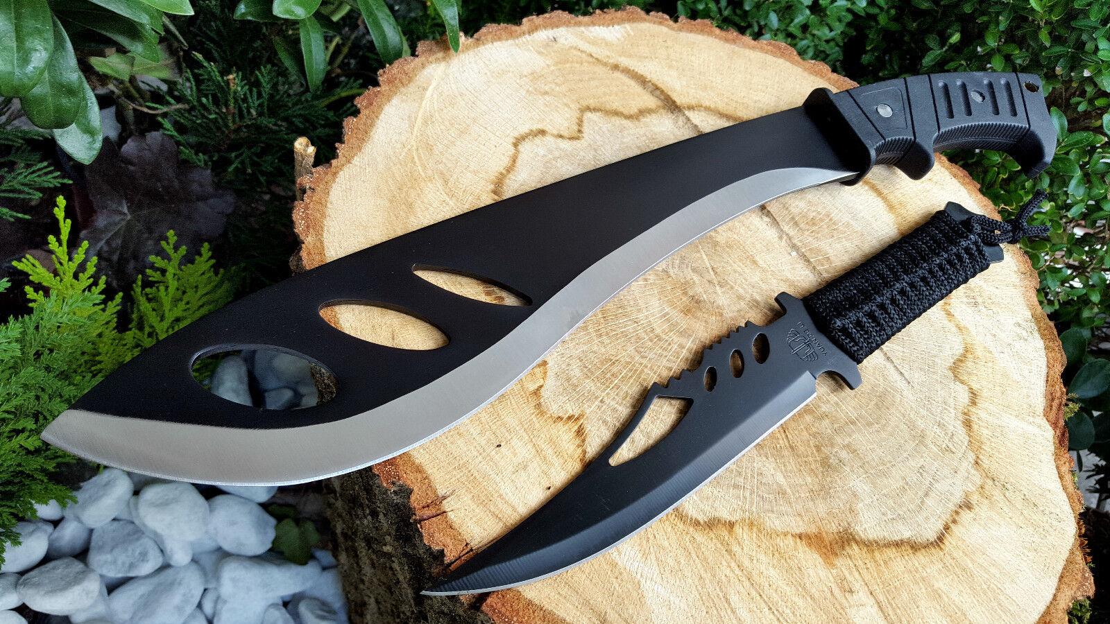 Machete +Messer Knife Bowie Buschmesser Coltello Hunting Macete Machette Couteau