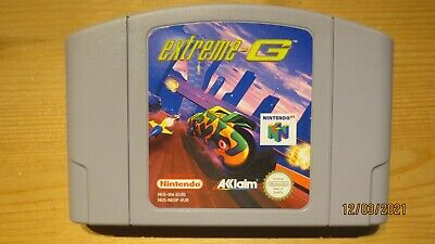 Extreme G for Nintendo 64 N64. Cart Only. Pal