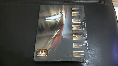 Iron Man Blufans exclusive Blu-ray Steelbook Empty Case (V1), New/Mint