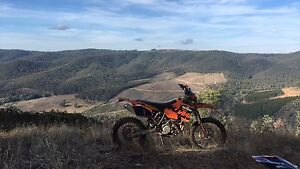 KTM 525 EXC 2004, will swap for 2 stroke enduro Wallan Mitchell Area Preview